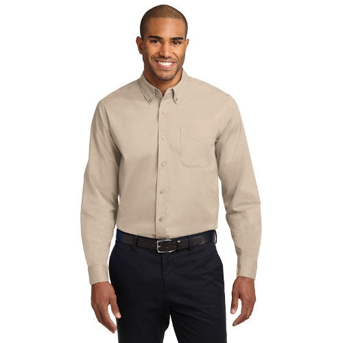 Port Authority® Long Sleeve Easy Care Shirt - Lights w/ Embroidery