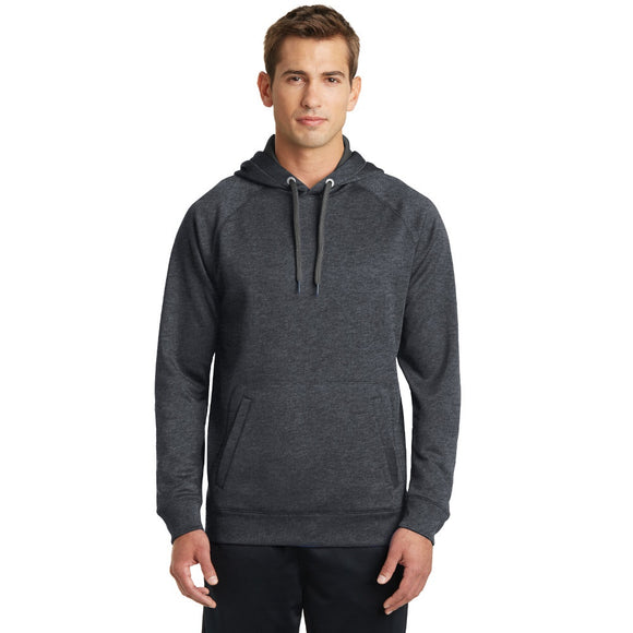 Sport-Tek® Tech Fleece Hooded Sweatshirt w/ Embroidery