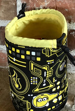 "Load image into Gallery viewer, Medium Drawstring Project Bag - ""Minions"""
