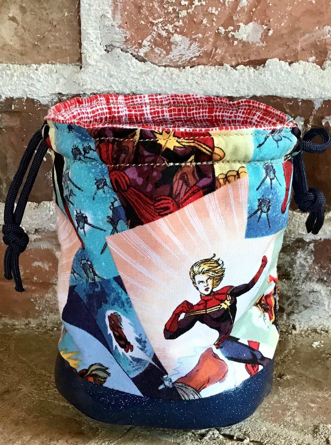 Personal Size Drawstring Project Bag -