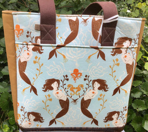 "Open Tote, ""Mermaids"""