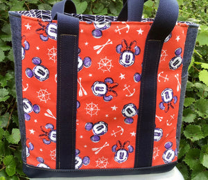 "Open Tote, ""Mickey Mouse"""