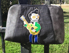 "Load image into Gallery viewer, Day of the Dead, ""Guitar Man"" Cross body bag"