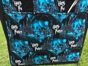 Open Tote, Harry Potter, Hogwarts and Moon