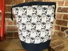 "Load image into Gallery viewer, Large Yarn Bag W/Divider - ""Star Wars - Storm Troopers"""