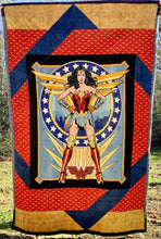 "Load image into Gallery viewer, Quilt - ""Wonder Woman '84"""