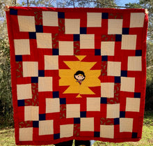 "Load image into Gallery viewer, Quilt - ""Wonder Woman - Young"""