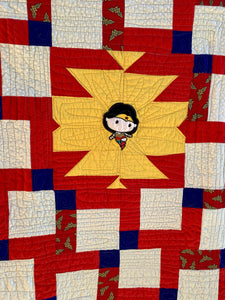 "Quilt - ""Wonder Woman - Young"""