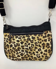 "Load image into Gallery viewer, Cross Body - ""Journey Bag"" - Leopard Print"
