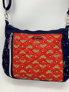 "Cross Body - ""Journey Bag"" - Wonder Woman"