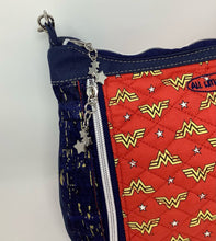 "Load image into Gallery viewer, Cross Body - ""Journey Bag"" - Wonder Woman"