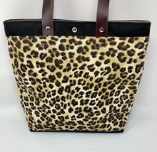 Load image into Gallery viewer, Sheridan Shopper - Leopard Print
