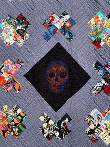 "Quilt - ""Day of the Dead"" Quilt"