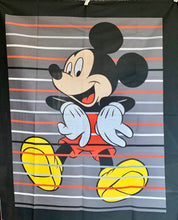 "Load image into Gallery viewer, Quilts - Custom Made - ""MICKEY MOUSE"" Quilt - 2 Sizes"