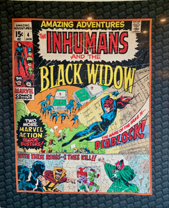 "Quilts - Custom Made - ""BLACK WIDOW"" Quilt - 2 Sizes"