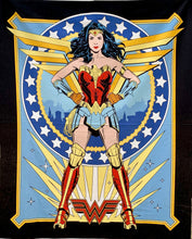 "Load image into Gallery viewer, Quilts - Custom Made - ""WONDER WOMAN '84"" Quilt - 2 Sizes"