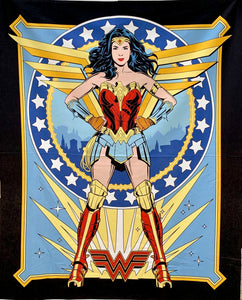"Quilts - Custom Made - ""WONDER WOMAN '84"" Quilt - 2 Sizes"