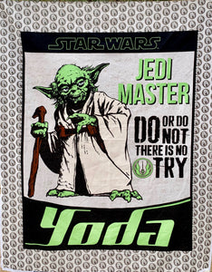 "Quilts - Custom Made - ""YODA"" Quilt - 2 Sizes"