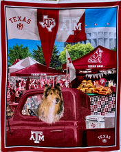 "Load image into Gallery viewer, Quilts - Custom Made - ""REVEILLE - TEXAS A&M"" Quilt - 2 Sizes"