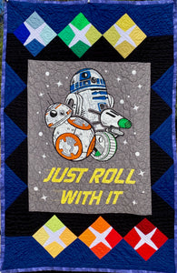 "Quilt - ""Just Roll With It/Star Wars"""
