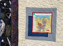 "Load image into Gallery viewer, Quilt - ""Star Wars Riding Academy"""