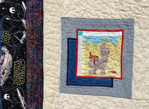 "Quilt - ""Star Wars Riding Academy"""