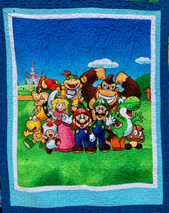 "Quilt - ""Mario and Friends"""
