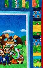 "Load image into Gallery viewer, Quilt - ""Mario and Friends"""