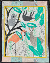 "Load image into Gallery viewer, Quilt - ""Zoology"""