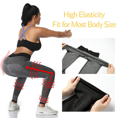 High Waist Yoga Tummy Control Fitness Pants Leggings