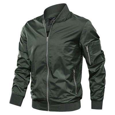 Men Autumn Casual Military Army Bomber Jacket