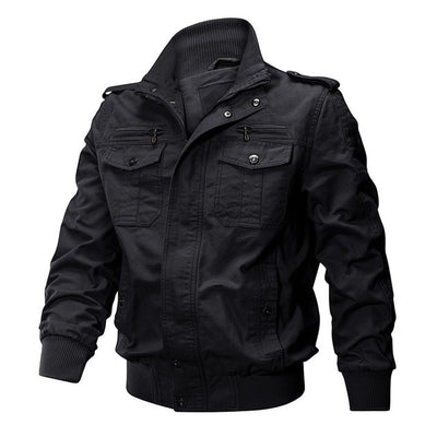 Men Winter Military Airsoft Multi-Pockets Casual Jacket