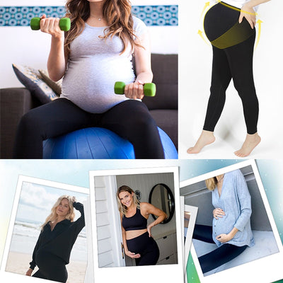Mothers Maternity Pregnant High Waist Women Support Legging