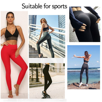 Polyester Ankle-Length Breathable Fitness Female Leggings