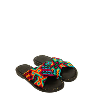 SETI WOVEN BANDS CARIBBEAN SANDALS