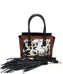 BIDAI BRISO BLACK/COW HIDE