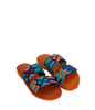 HASEN WOVEN BANDS DEEP BLUE SANDALS