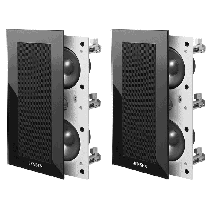 black 203 in wall speakers