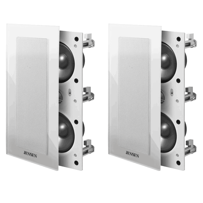white 203 in wall speakers