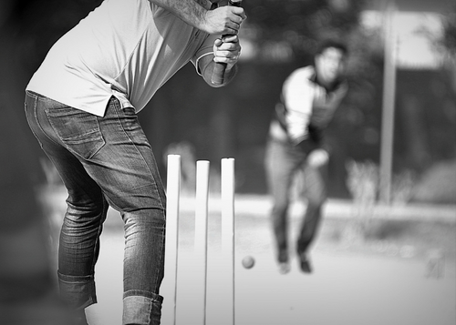 stay tuned to the cricket match