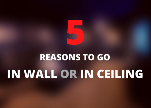in-wall or in-ceiling