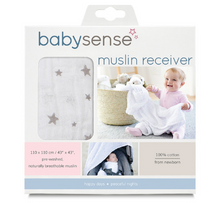 Load image into Gallery viewer, Baby Sense Muslin Receiver