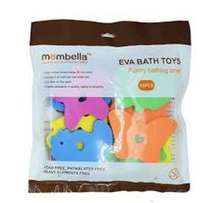 Load image into Gallery viewer, Mömbella Stick-On-Wall Animal Bath Toys
