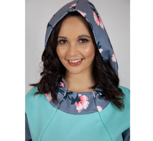 Floral Nursing Friendly Hoody