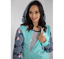 Load image into Gallery viewer, Floral Nursing Friendly Hoody