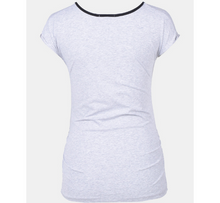 Load image into Gallery viewer, Grey Maternity Top