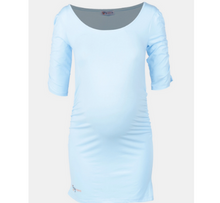 Load image into Gallery viewer, Light Blue Maternity Top