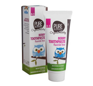 Pure Beginnings Baby Berry Toothpaste (0-3 years)