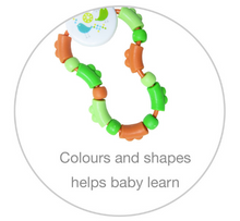 Load image into Gallery viewer, Twisties Rattle & Teether