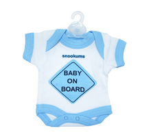 Load image into Gallery viewer, Baby on Board– Babygrow